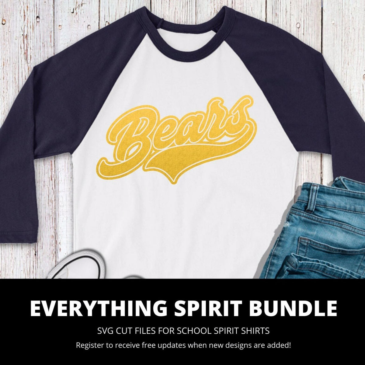 Bears Everything Spirit Bundle | SVG DXF EPS PNG Cut Files
