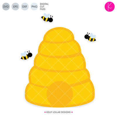 Beehive | SVG DXF EPS PNG Cut Files