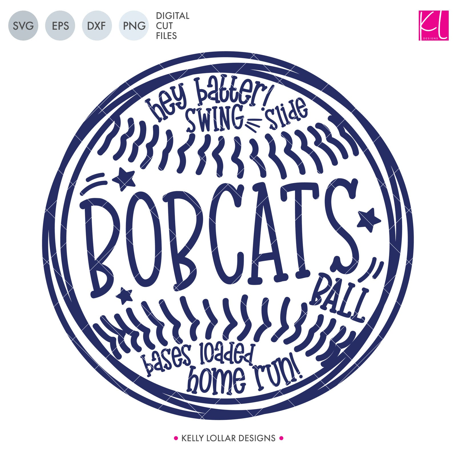 Bobcats Baseball & Softball Bundle | SVG DXF EPS PNG Cut Files It's baseball and softball season, so Bobcat crafter know what that means ... new spirit shirts! This fifteen-piece bundle includes a little something for everyone - from girly and cute to