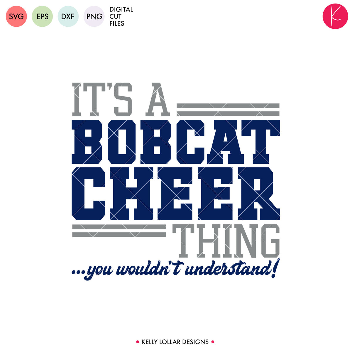 Bobcats Cheer Bundle | SVG DXF EPS PNG Cut Files