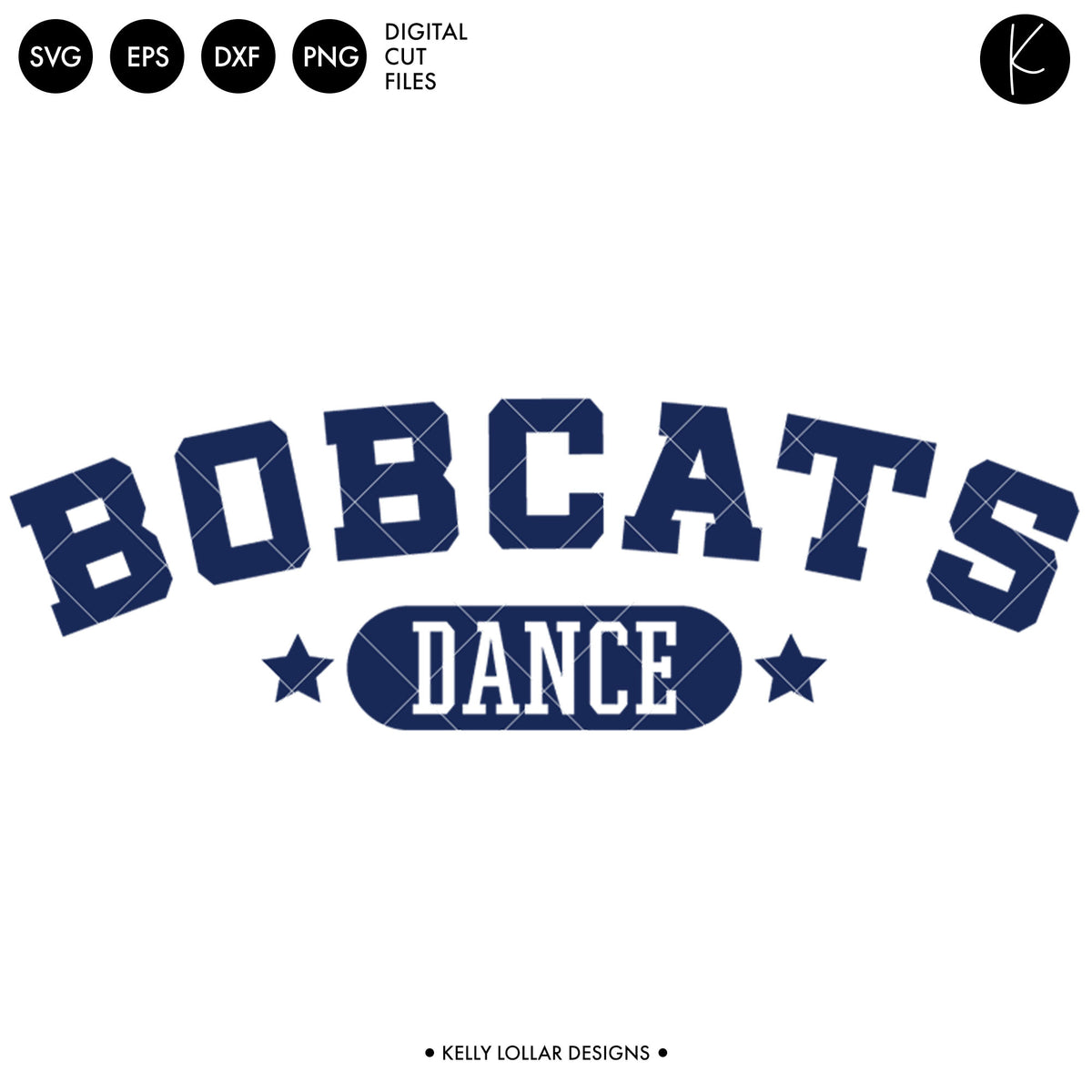 Bobcats Dance Bundle | SVG DXF EPS PNG Cut Files
