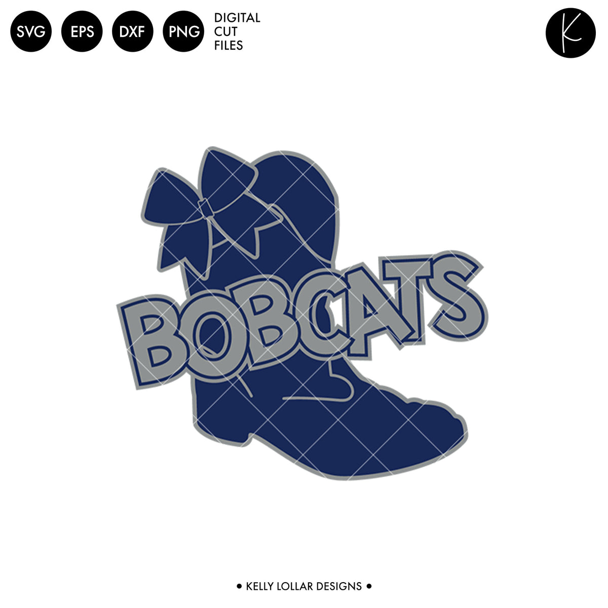 Bobcats Drill Bundle | SVG DXF EPS PNG Cut Files