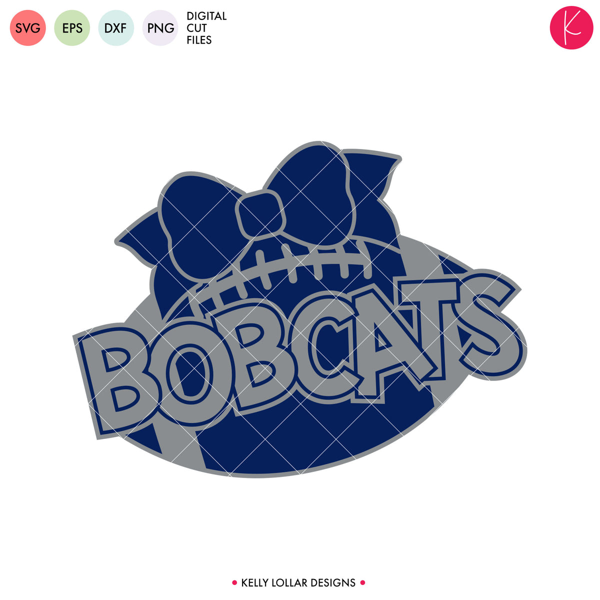 Bobcats Football Bundle | SVG DXF EPS PNG Cut Files