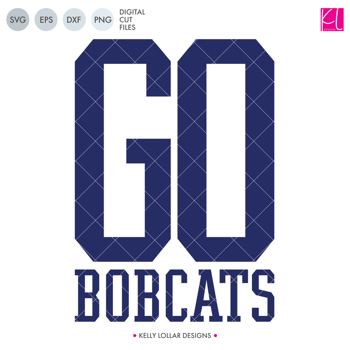Bobcats Mascot Bundle | SVG DXF EPS PNG Cut Files