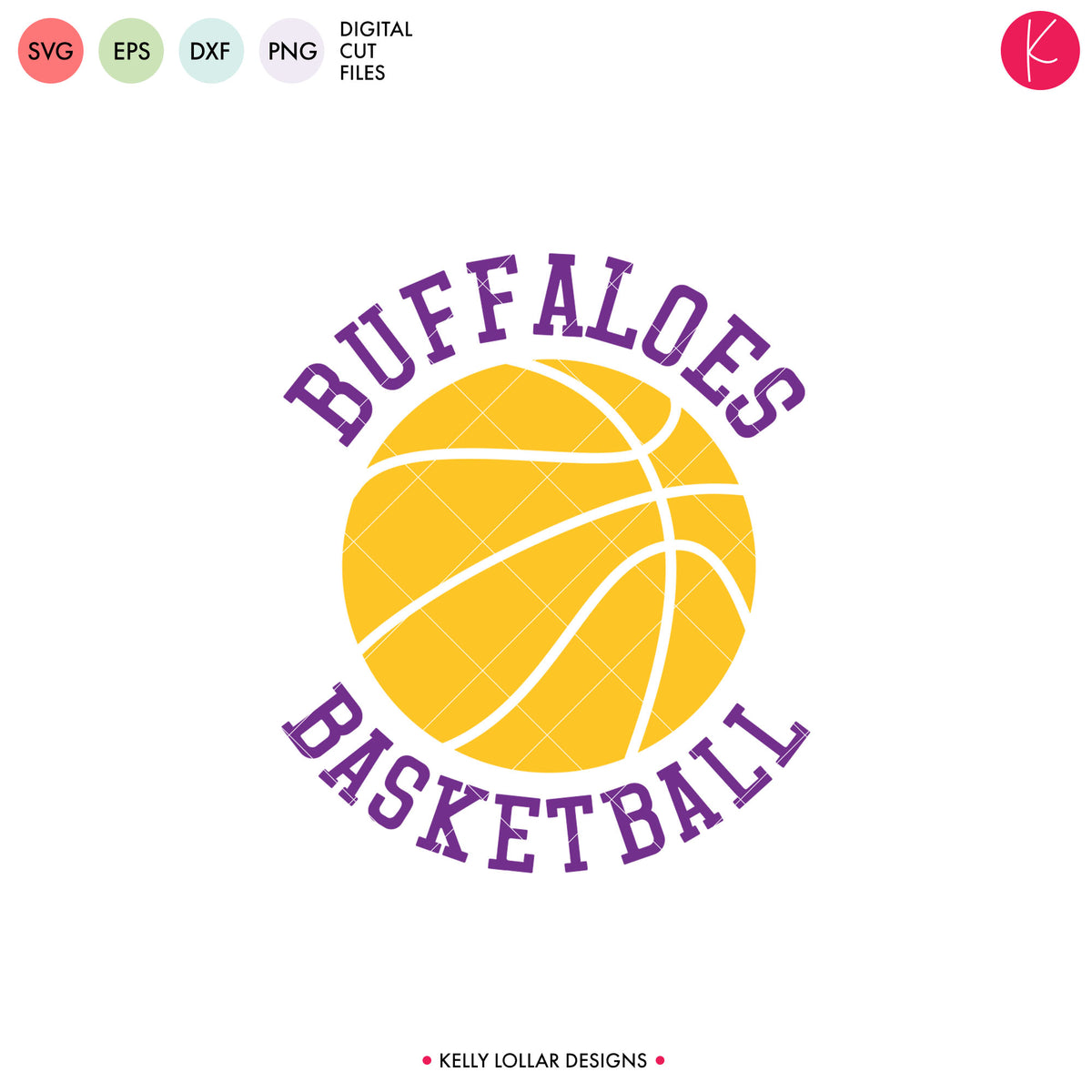 Buffaloes Basketball Bundle | SVG DXF EPS PNG Cut Files