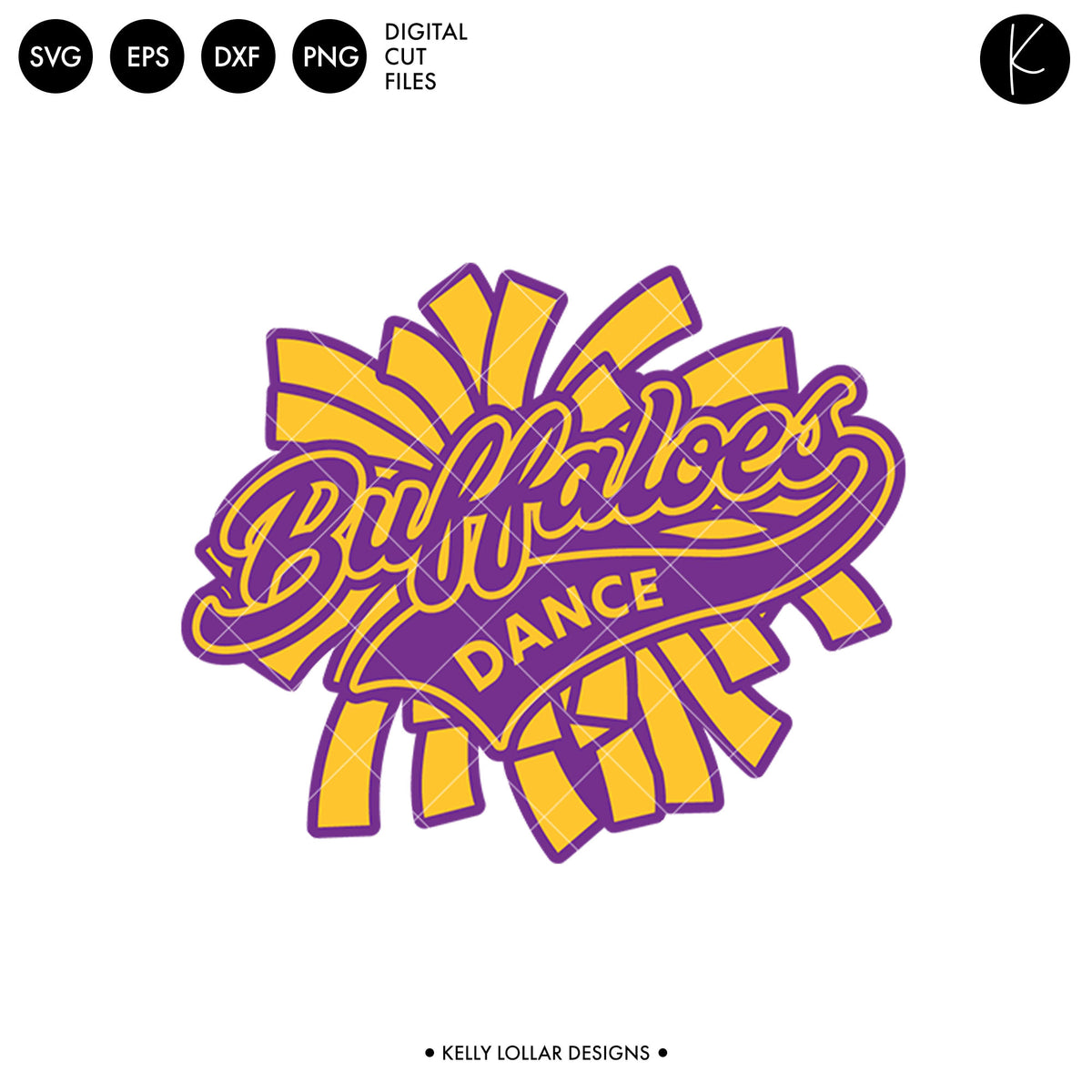 Buffaloes Dance Bundle | SVG DXF EPS PNG Cut Files