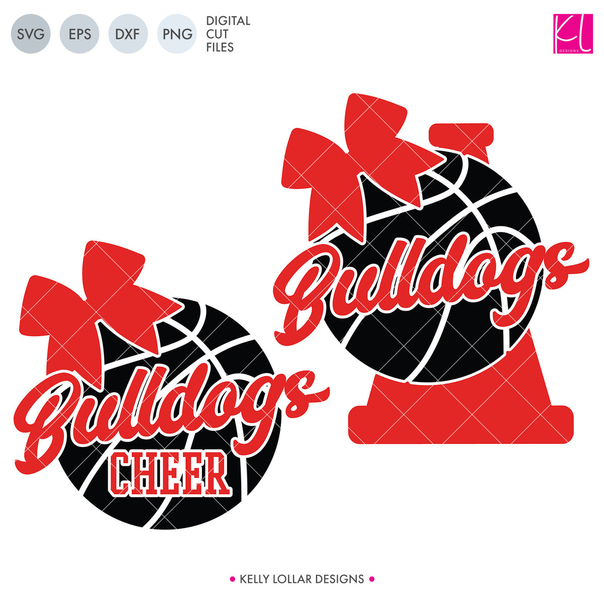 Bulldogs Basketball Bundle | SVG DXF EPS PNG Cut Files