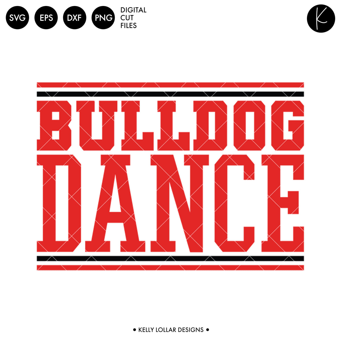Bulldogs Dance Bundle | SVG DXF EPS PNG Cut Files