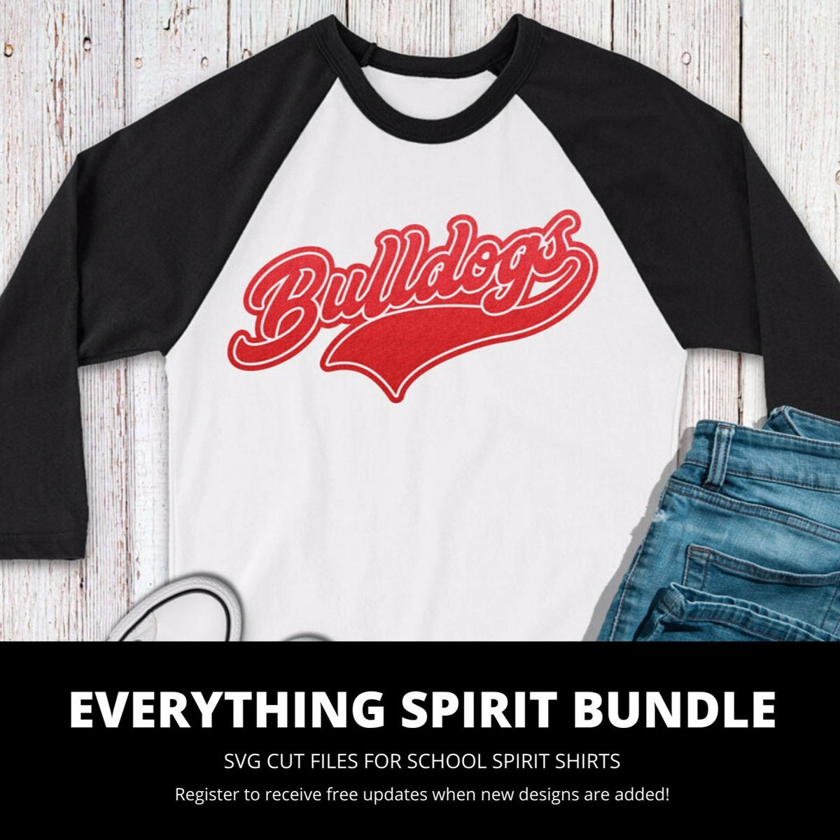 Bulldogs Everything Spirit Bundle | SVG DXF EPS PNG Cut Files
