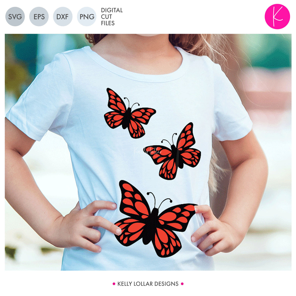 Butterfly Pack | SVG DXF EPS PNG Cut Files