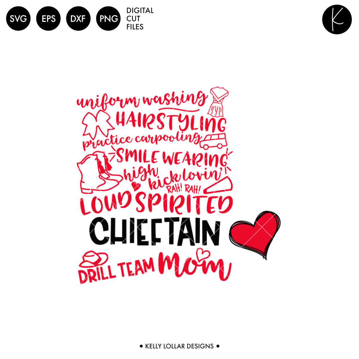 Chieftains Drill Bundle | SVG DXF EPS PNG Cut Files