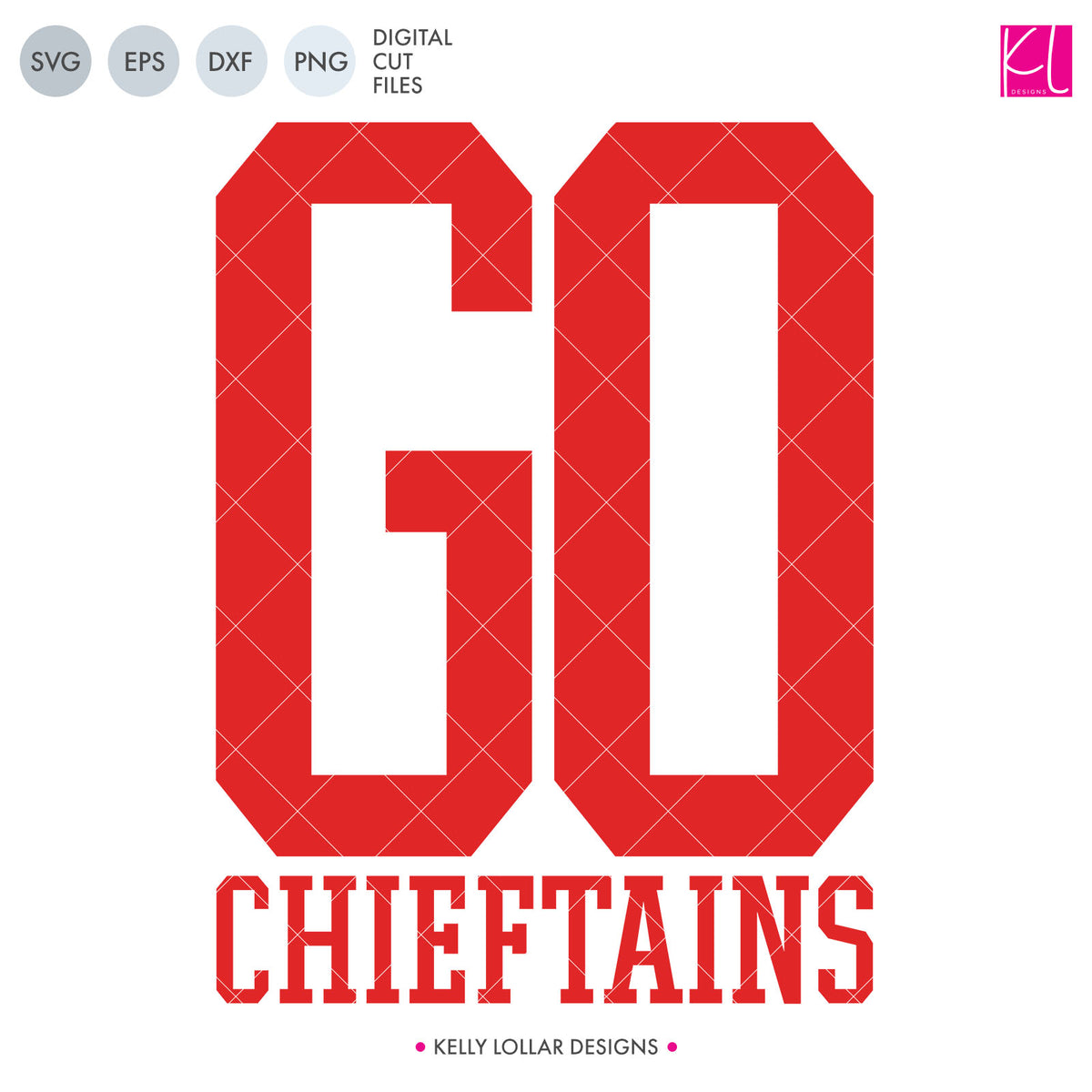 Chieftains Mascot Bundle | SVG DXF EPS PNG Cut Files