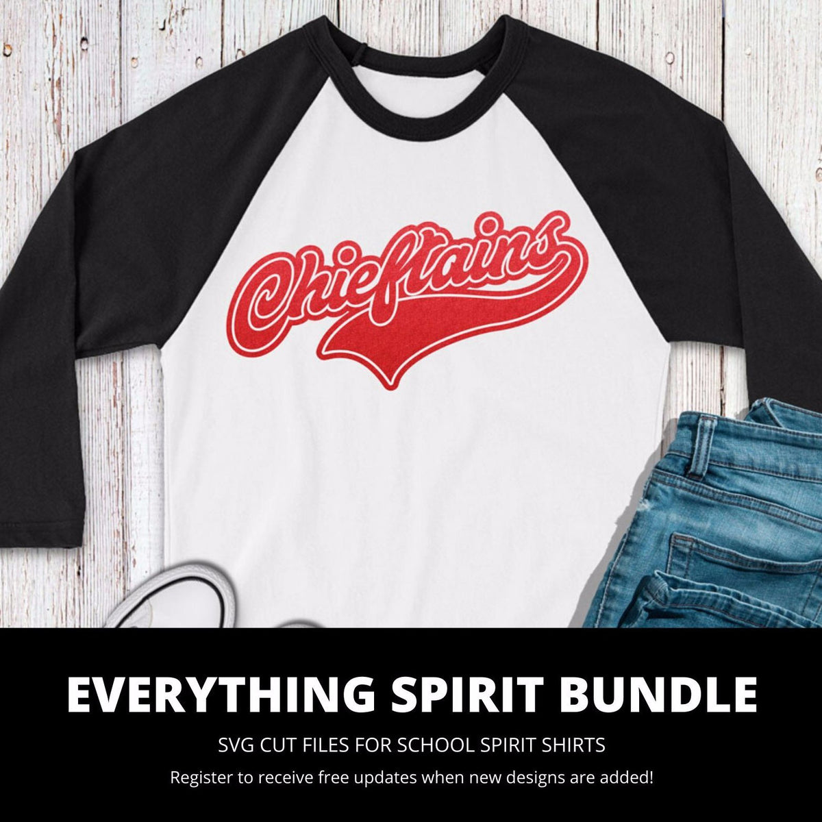 Chieftains Everything Spirit Bundle | SVG DXF EPS PNG Cut Files