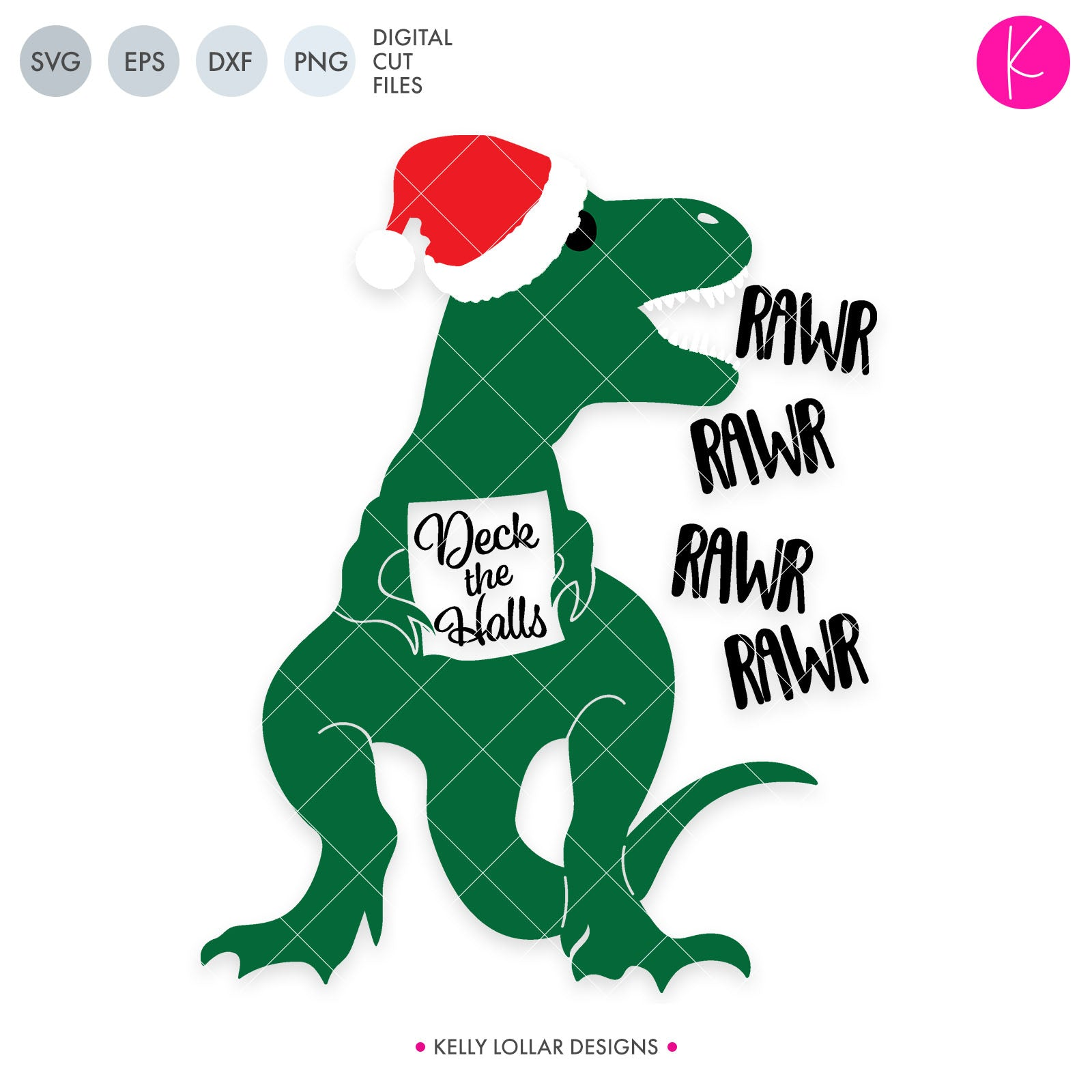 e9041d684059b Caroling T-Rex SVG Cut File Dinosaur with Santa Hat Singing Deck the Halls  for. Caroling T-Rex SVG Cut File Dinosaur with Santa Hat Singing Deck the  Halls ...