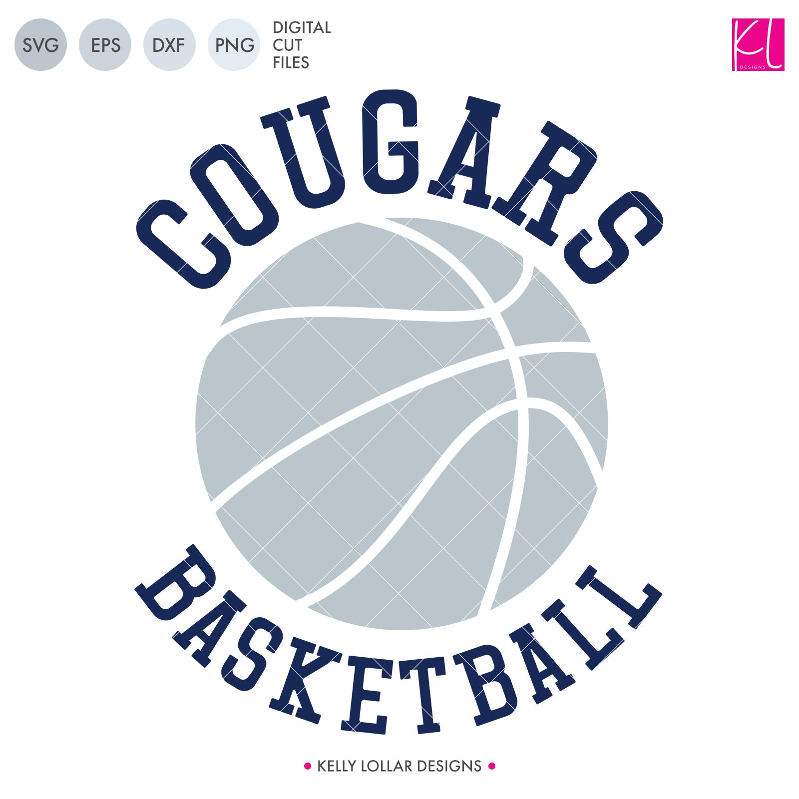 Cougars Basketball Bundle | SVG DXF EPS PNG Cut Files It's basketball season, so you Cougar Basketball crafter know what that means ... new spirit shirts! This fourteen-piece bundle includes a little something for everyone - from girly and cute