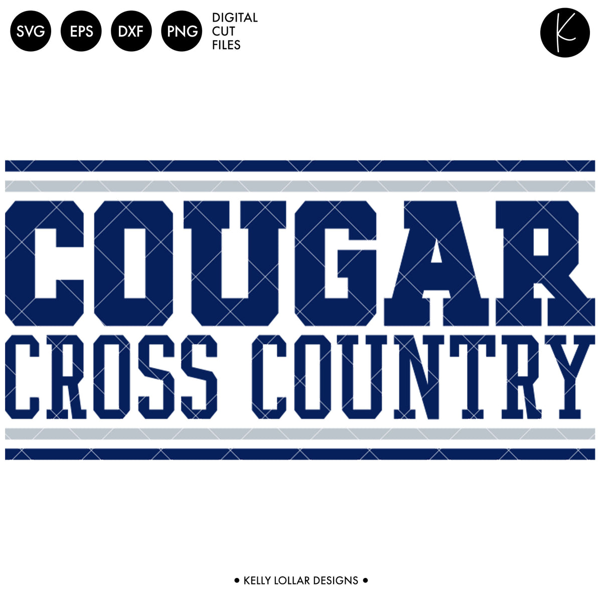 Cougars Cross Country Bundle | SVG DXF EPS PNG Cut Files