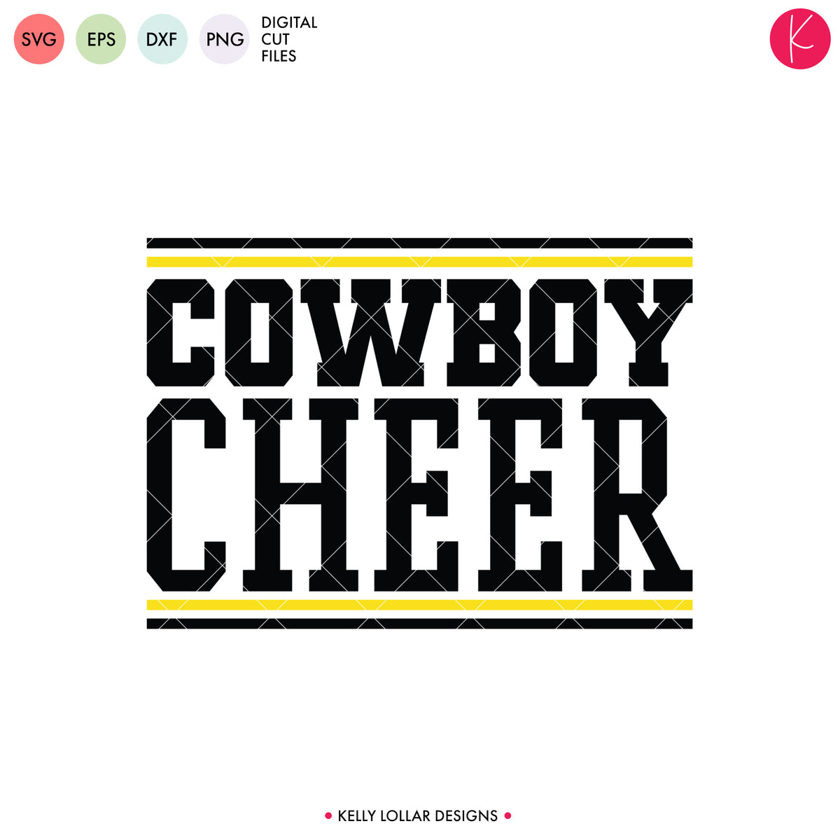 Cowboys Cheer Bundle | SVG DXF EPS PNG Cut Files