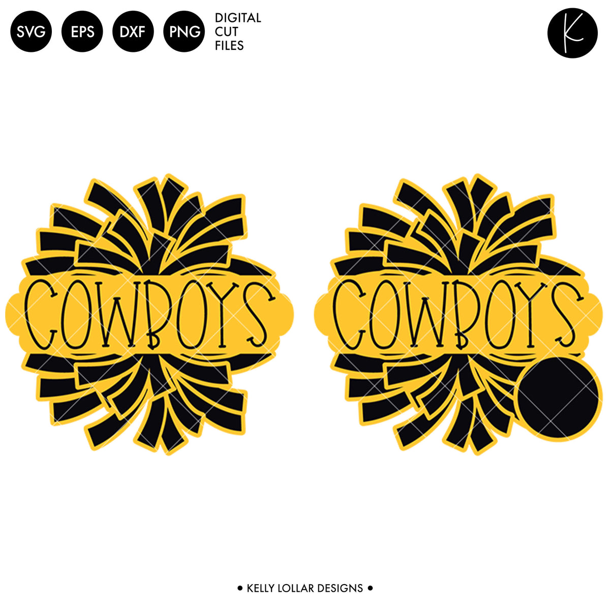 Cowboys Dance Bundle | SVG DXF EPS PNG Cut Files
