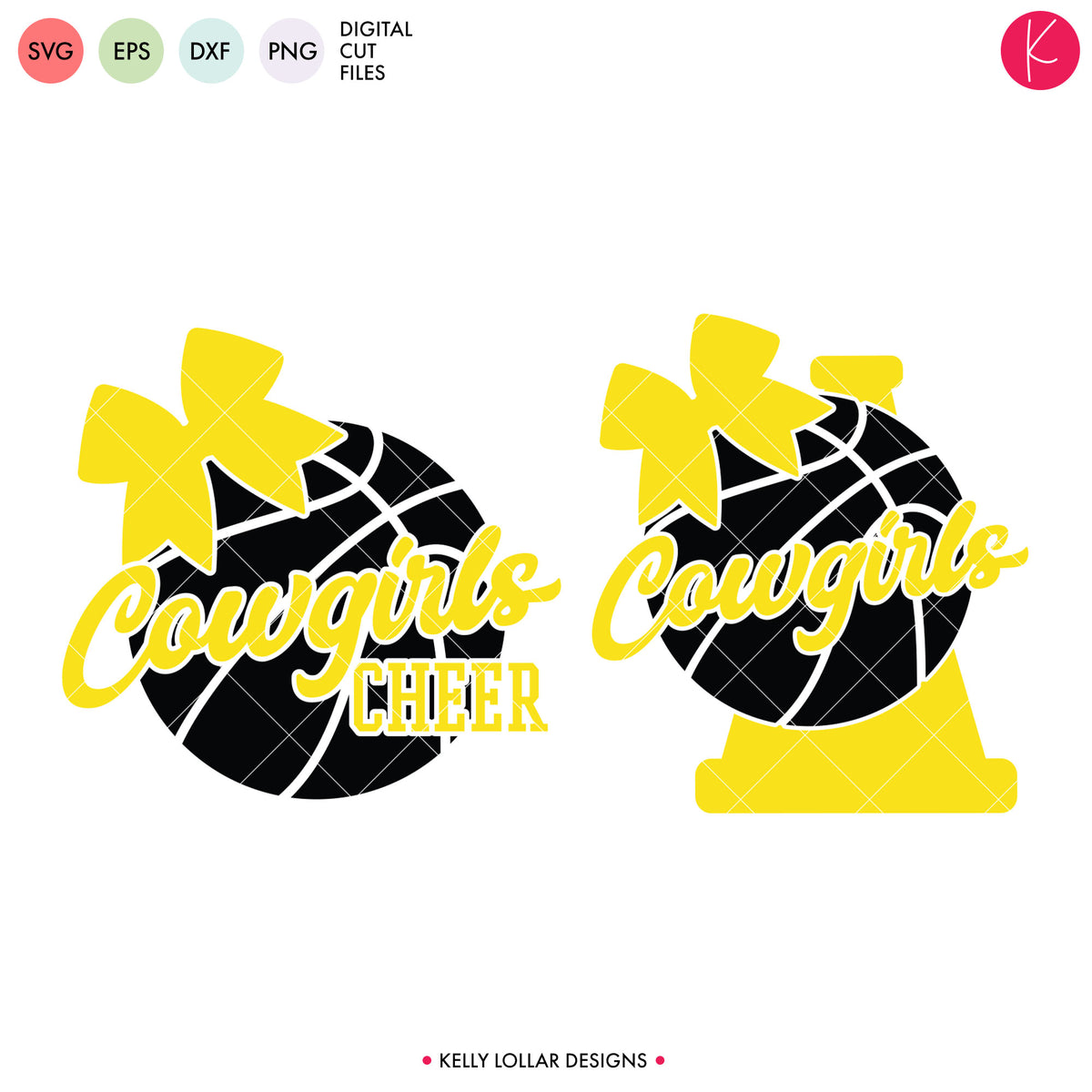 Cowboys & Cowgirls Basketball Bundle | SVG DXF EPS PNG Cut Files