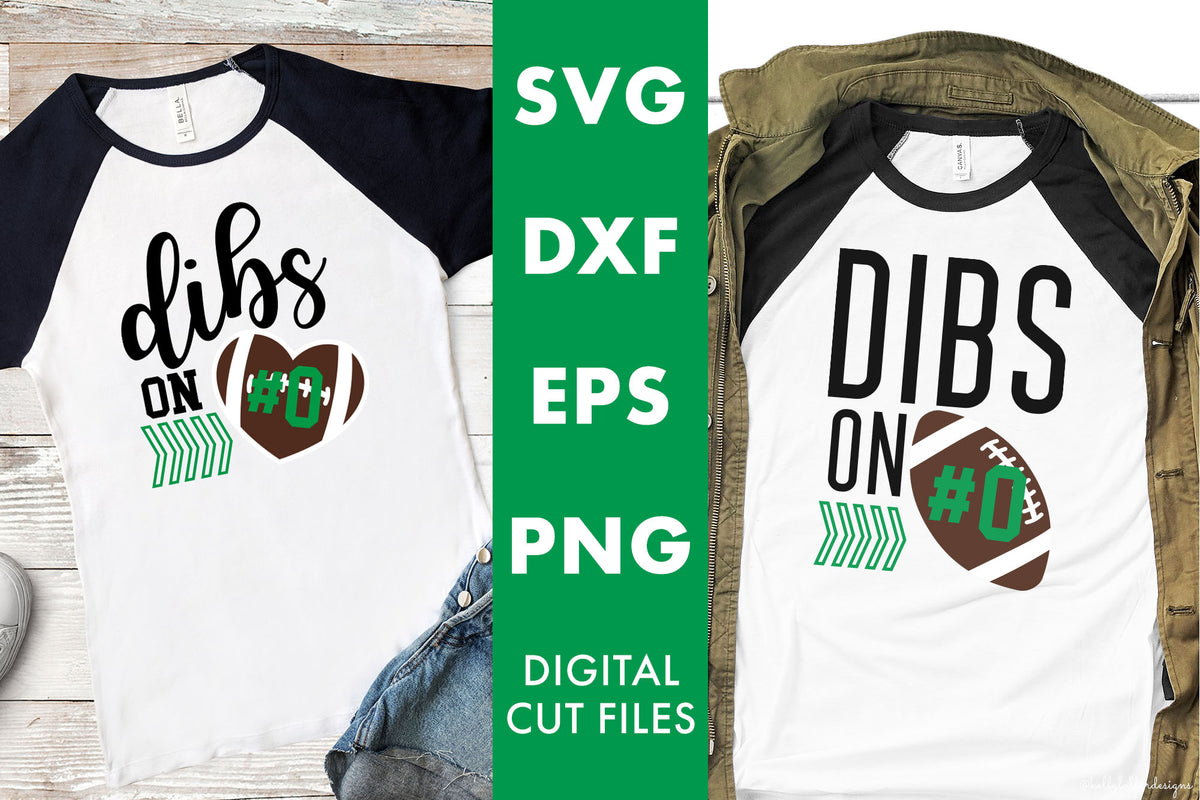 Dibs on the Player | SVG DXF EPS PNG Cut Files
