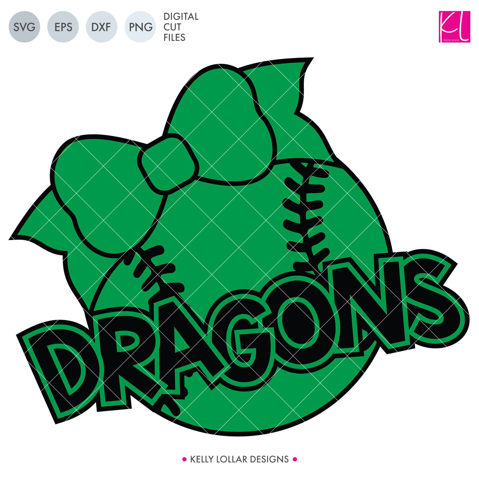 Dragons Baseball & Softball Bundle | SVG DXF EPS PNG Cut Files It's baseball and softball season, so Dragon crafter know what that means ... new spirit shirts! This fifteen-piece bundle includes a little something for everyone - from girly and cute
