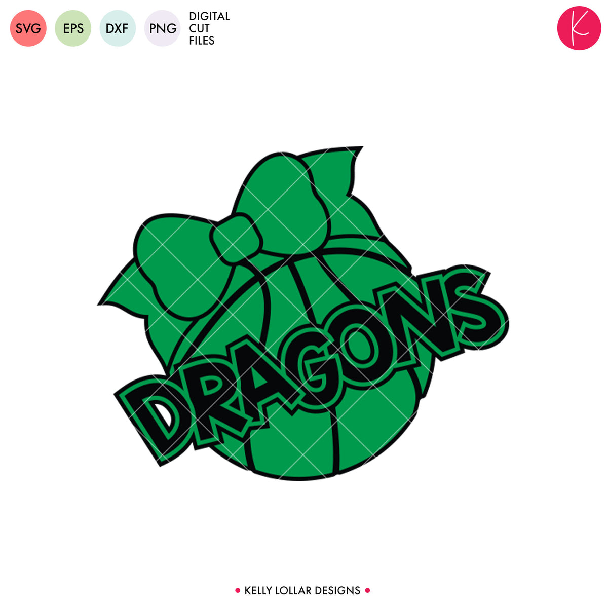 Dragons Basketball Bundle | SVG DXF EPS PNG Cut Files