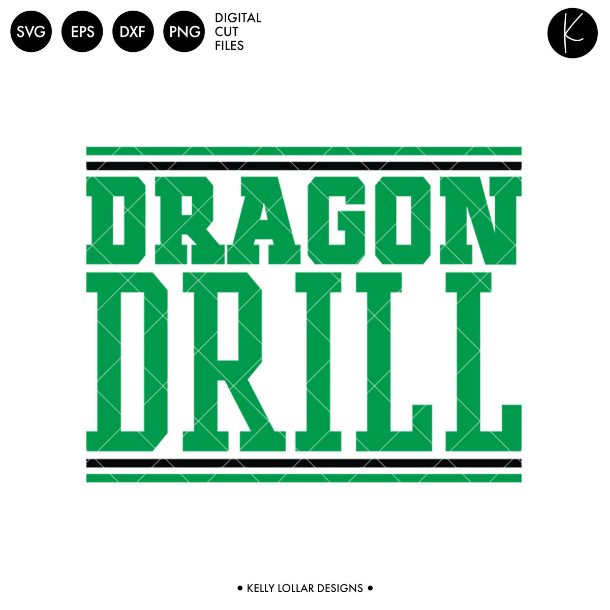 Dragons Drill Bundle | SVG DXF EPS PNG Cut Files