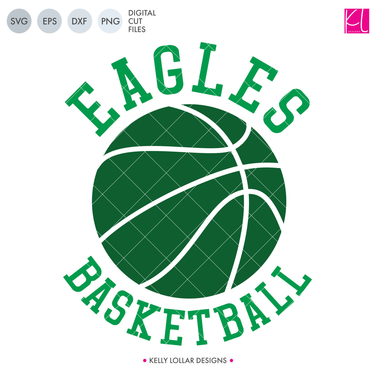 Eagles Basketball Bundle | SVG DXF EPS PNG Cut Files