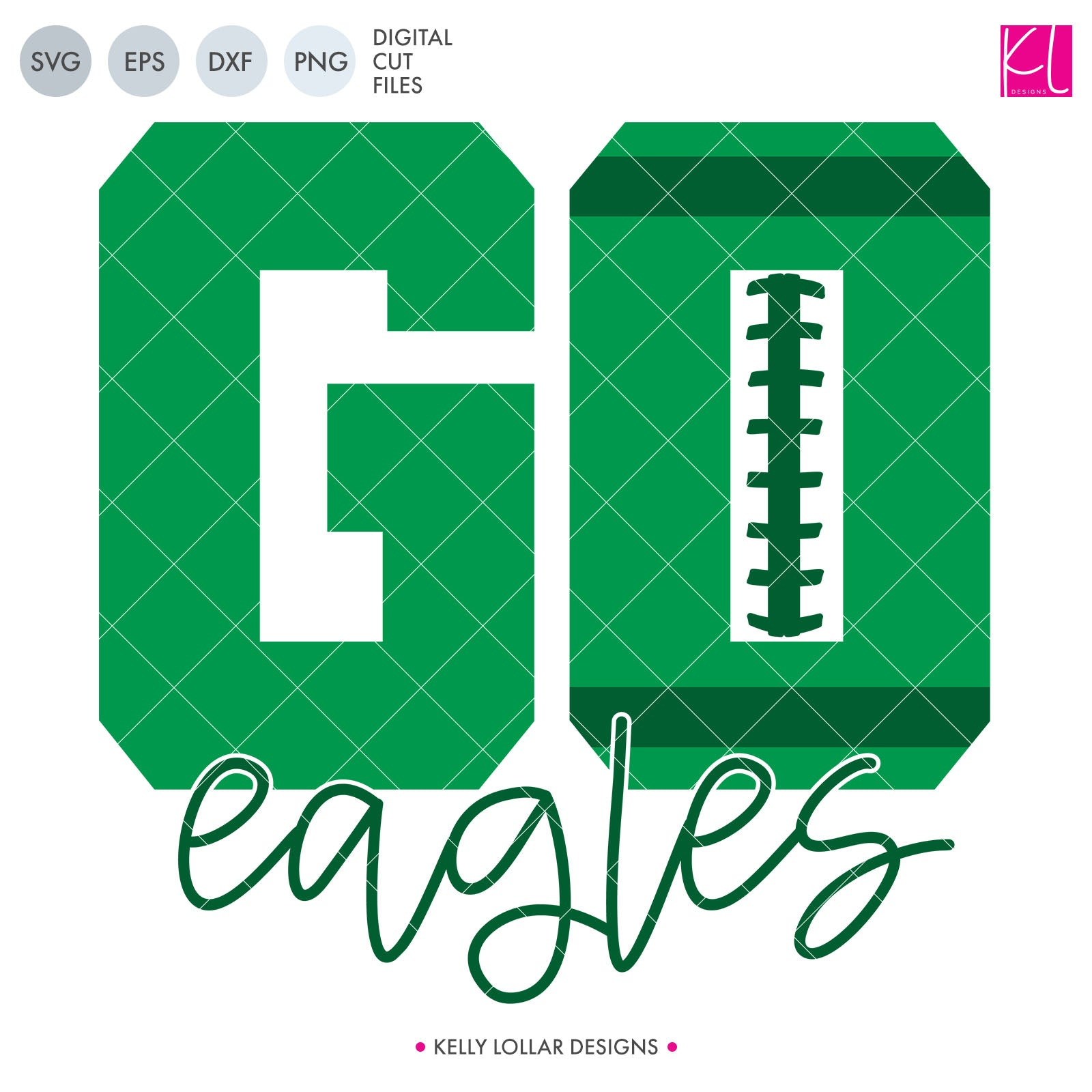 Eagles Football Bundle | SVG DXF EPS PNG Cut Files This fifteen piece Eagle Football Bundle was created with school crafters in mind. Create an assortment of spirit shirts with choices ranging from family designs to monograms to classic. 15