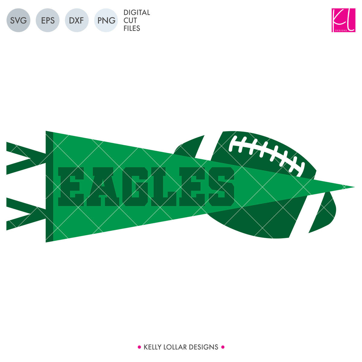 Eagles Football Bundle | SVG DXF EPS PNG Cut Files