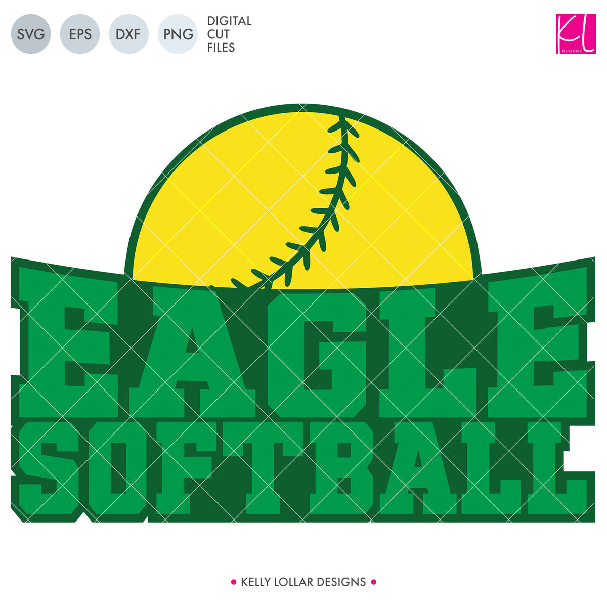 Eagles Baseball & Softball Bundle | SVG DXF EPS PNG Cut Files