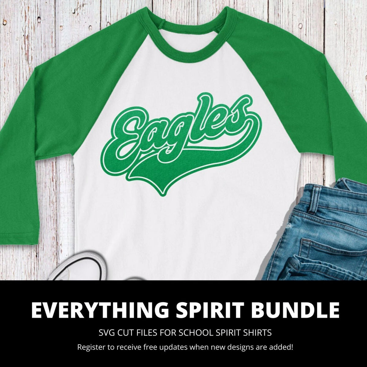Eagles Everything Spirit Bundle | SVG DXF EPS ONG Cut Files