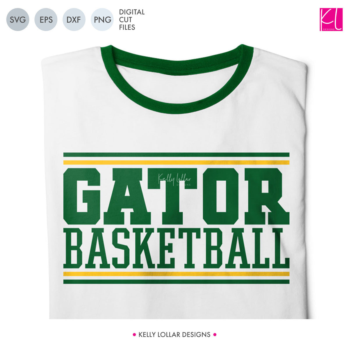 Gators Basketball Bundle | SVG DXF EPS PNG Cut Files
