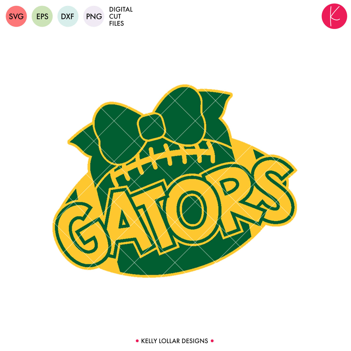 Gators Football Bundle | SVG DXF EPS PNG Cut Files