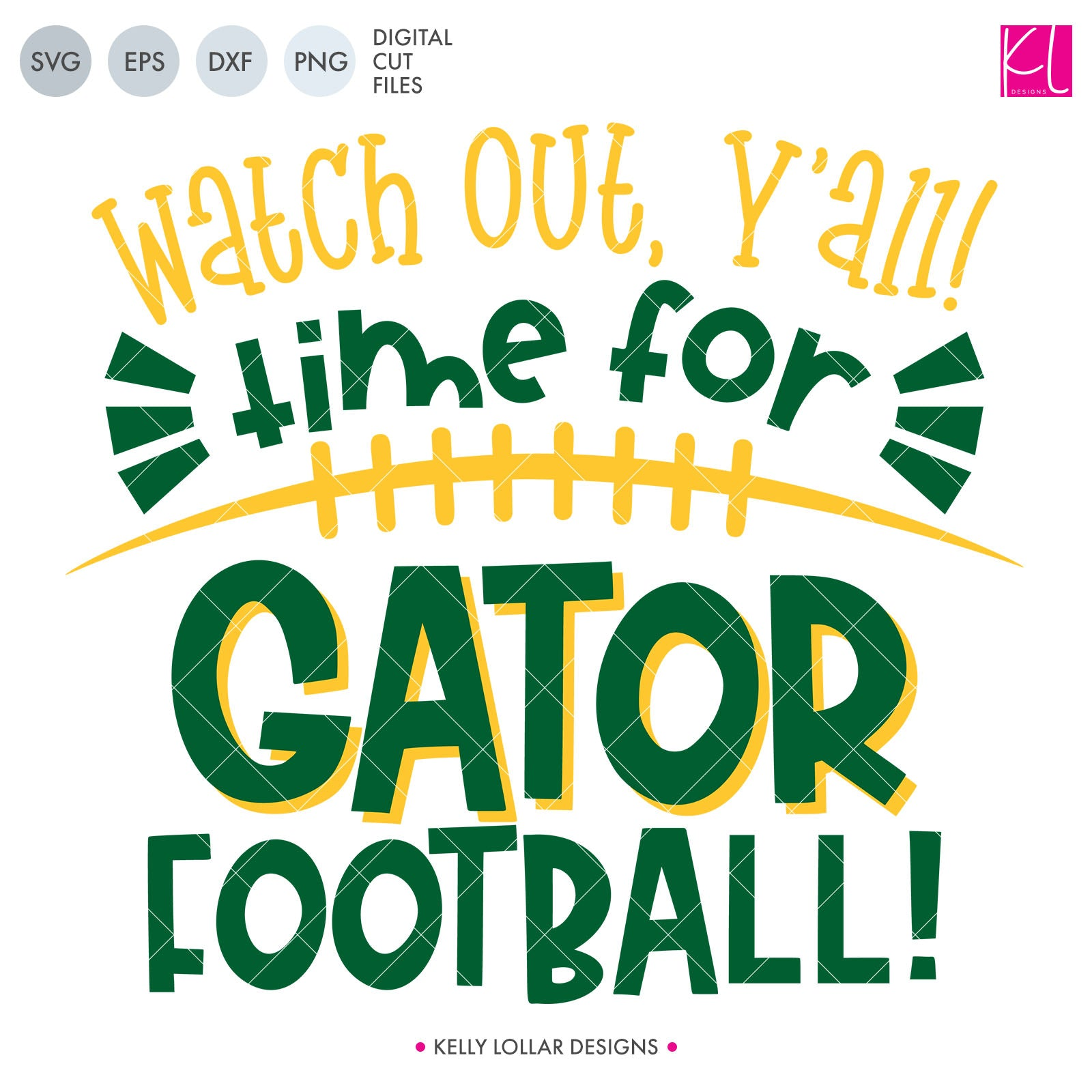 Gators Football Bundle | SVG DXF EPS PNG Cut Files This fifteen piece Gator Football Bundle was created with school crafters in mind. Create an assortment of spirit shirts with choices ranging from family designs to monograms to classic. 15