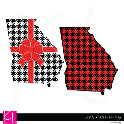 Georgia State Bundle | SVG DXF EPS PNG Cut Files