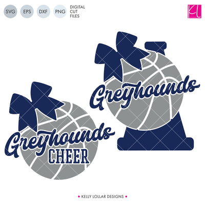 Greyhounds Basketball Bundle | SVG DXF EPS PNG Cut Files