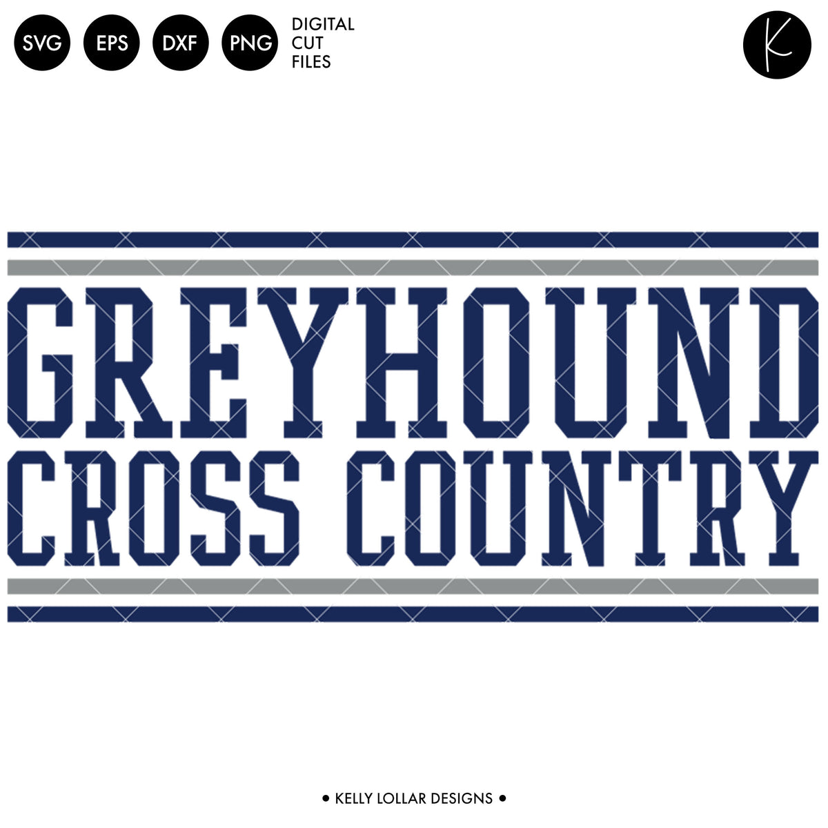 Greyhounds Cross Country Bundle | SVG DXF EPS PNG Cut Files