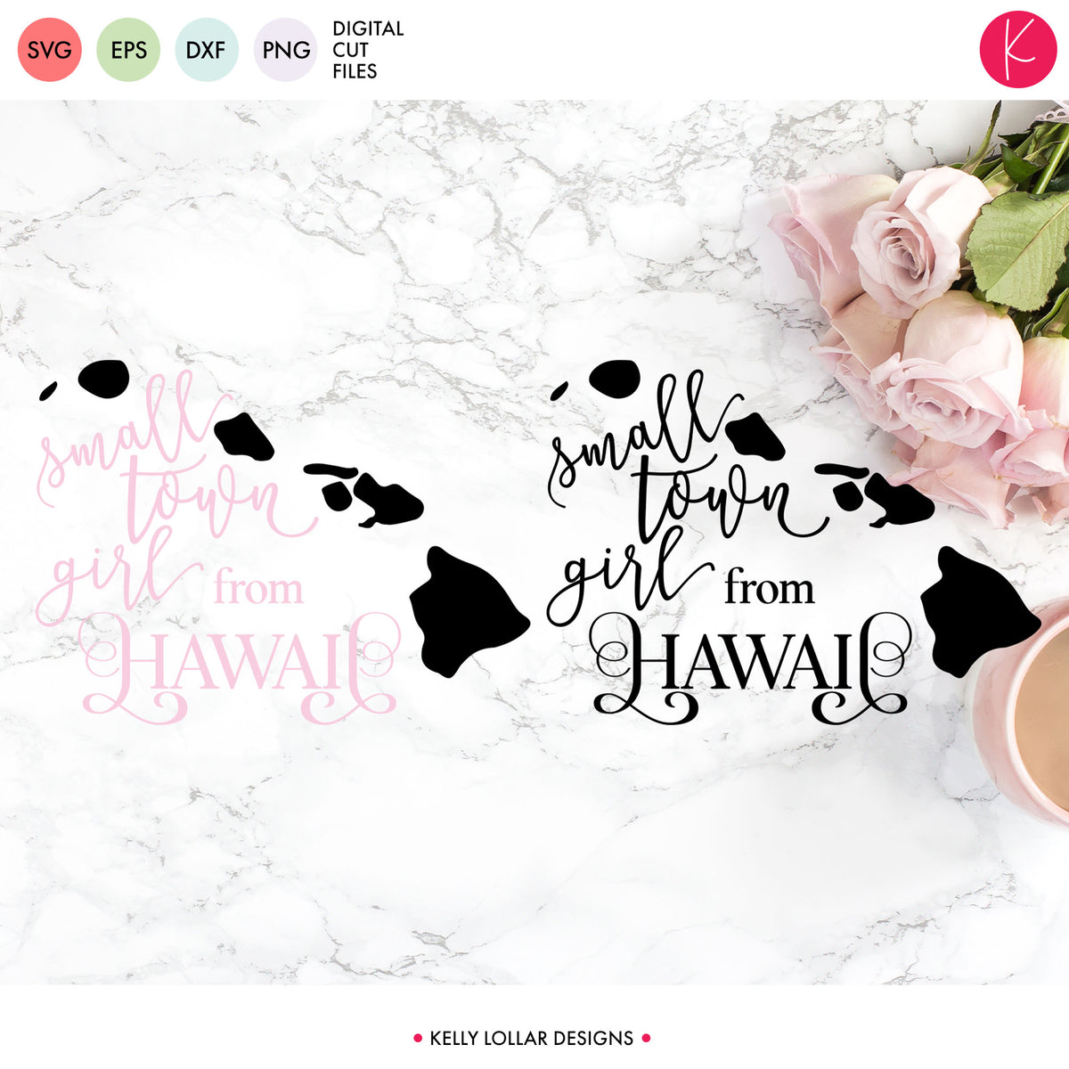 Hawaii State Bundle | SVG DXF EPS PNG Cut Files