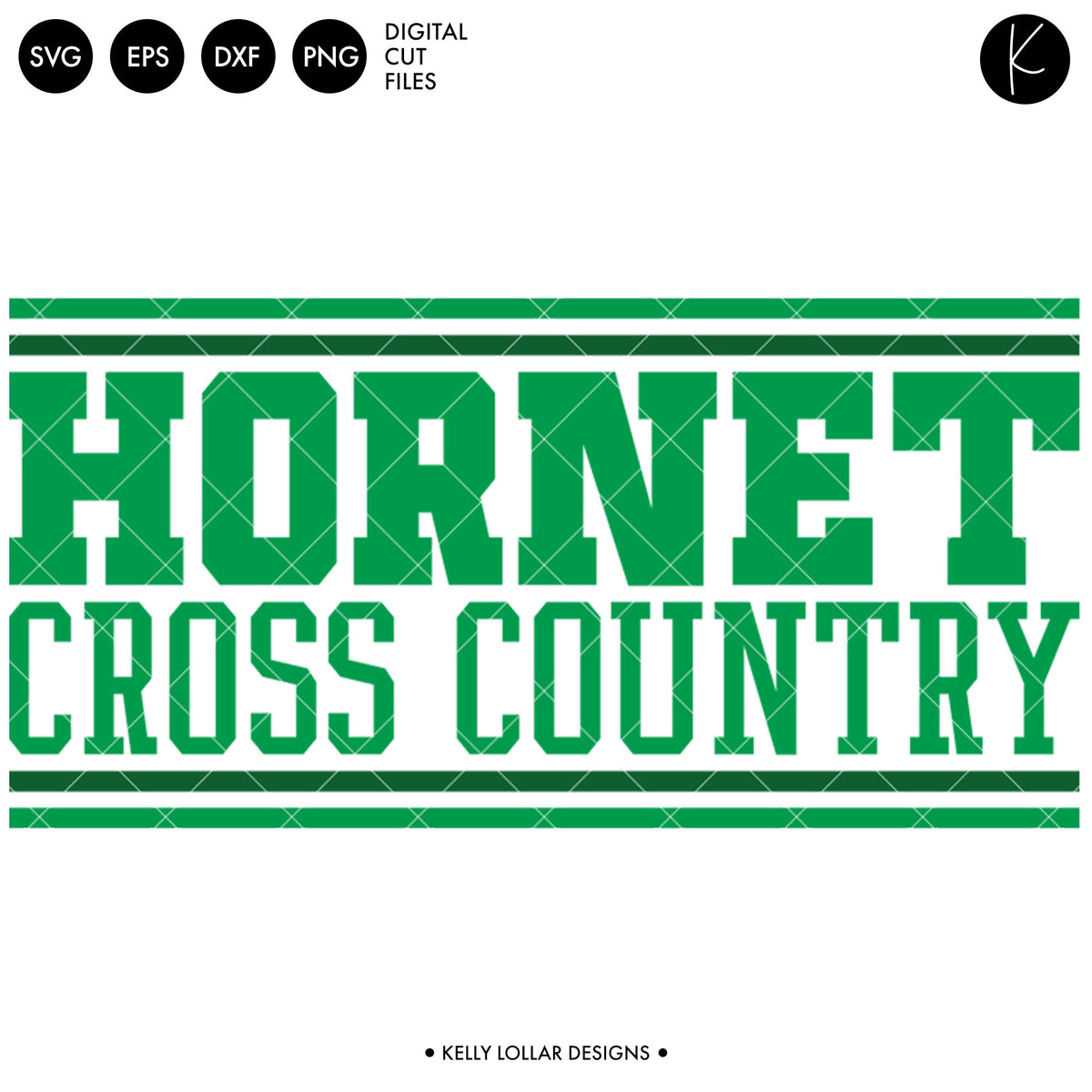 Hornets Cross Country Bundle | SVG DXF EPS PNG Cut Files