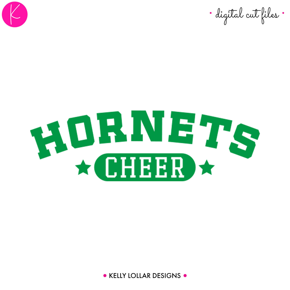 Hornets Cheer Bundle | SVG DXF EPS PNG Cut Files