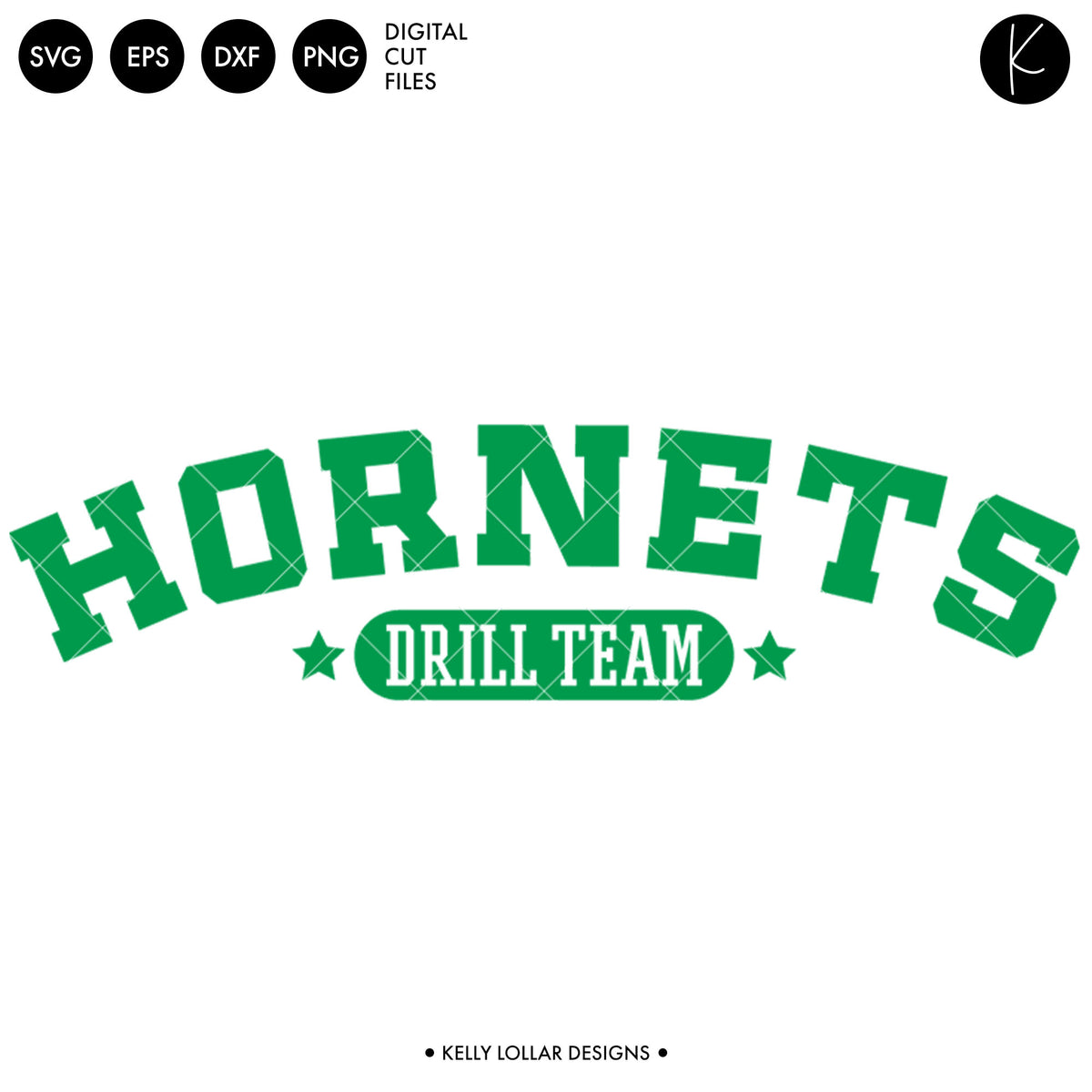 Hornets Drill Bundle | SVG DXF EPS PNG Cut Files