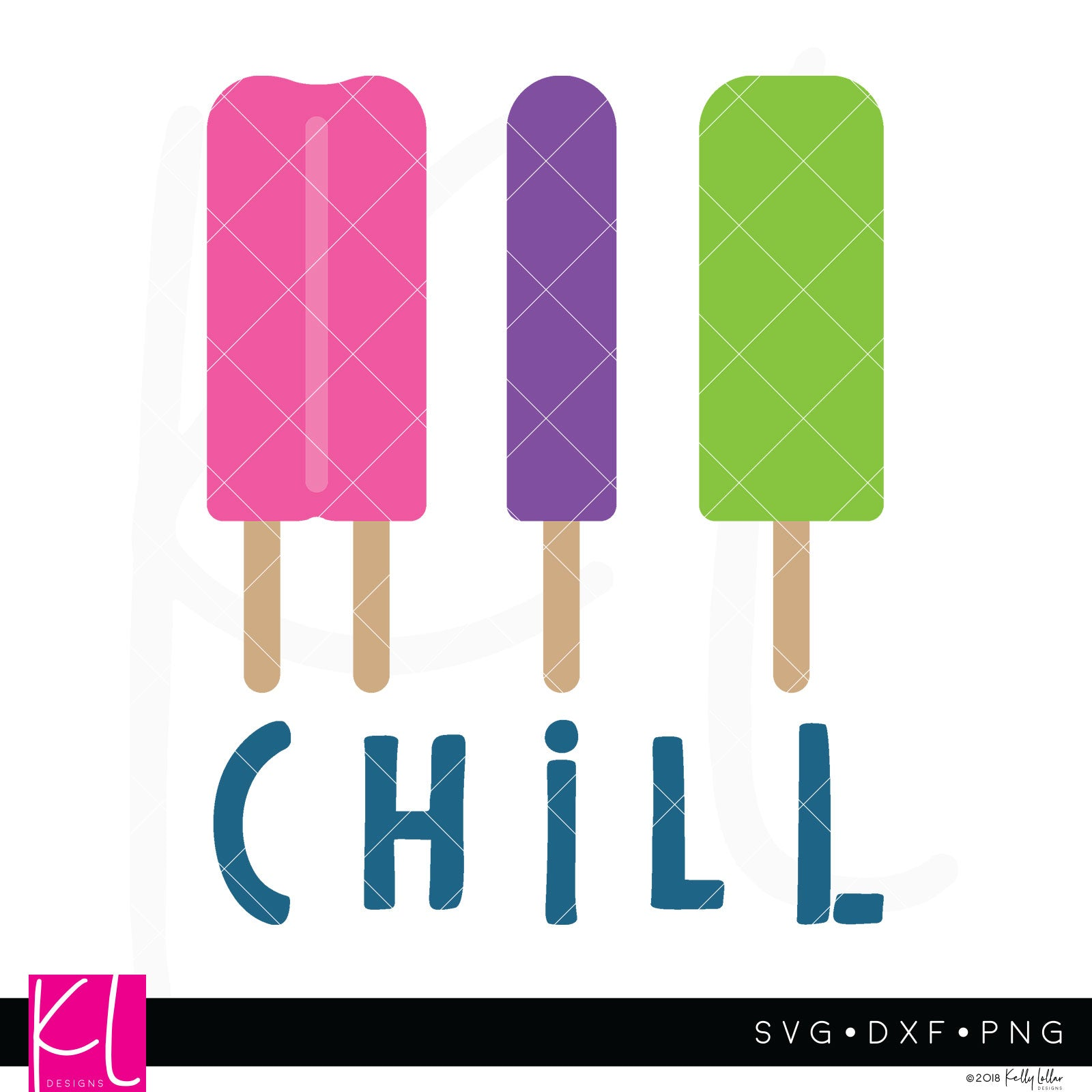 Ice Pops | SVG DXF EPS PNG Cut Files