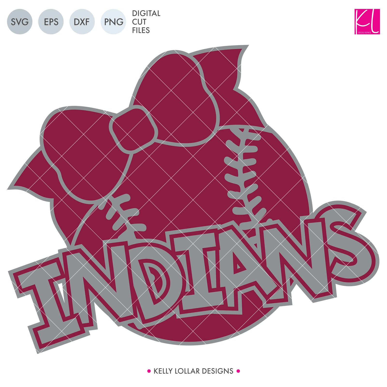 Indians Baseball & Softball Bundle | SVG DXF EPS PNG Cut Files It's baseball and softball season, so Indian crafter know what that means ... new spirit shirts! This fifteen-piece bundle includes a little something for everyone - from girly and cute