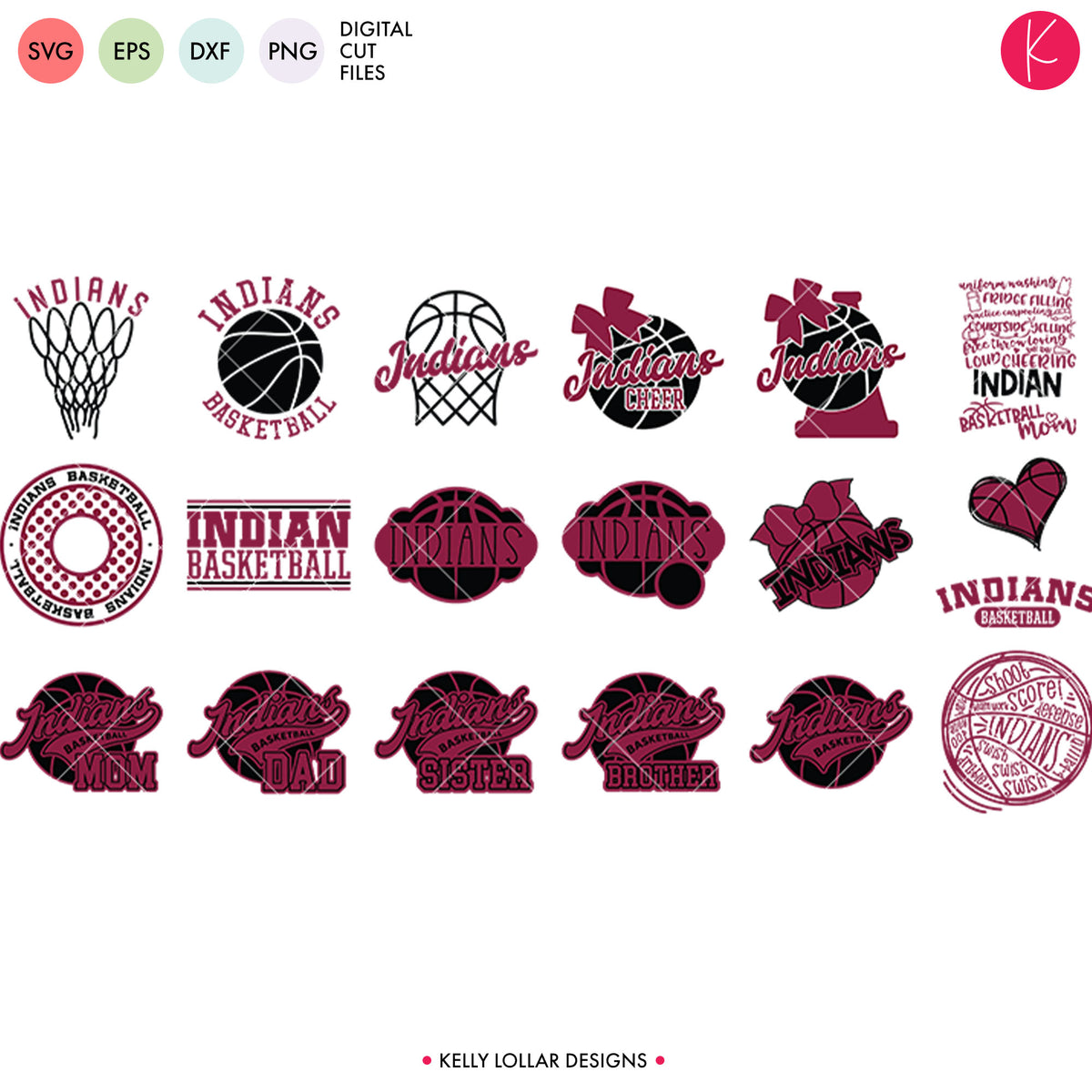Indians Everything Spirit Bundle | SVG DXF EPS PNG Cut Files