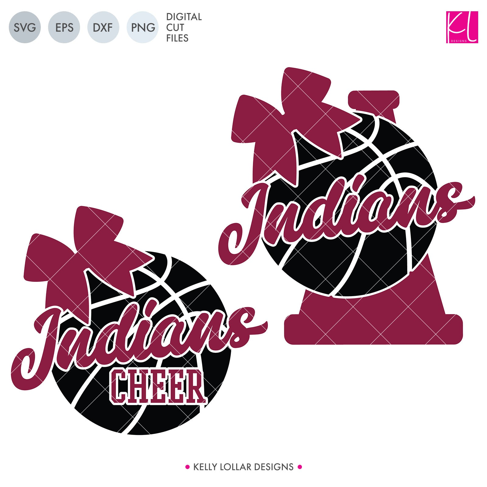 Indians Basketball Bundle | SVG DXF EPS PNG Cut Files It's basketball season, so you Indian Basketball crafter know what that means ... new spirit shirts! This fourteen-piece bundle includes a little something for everyone - from girly and cute