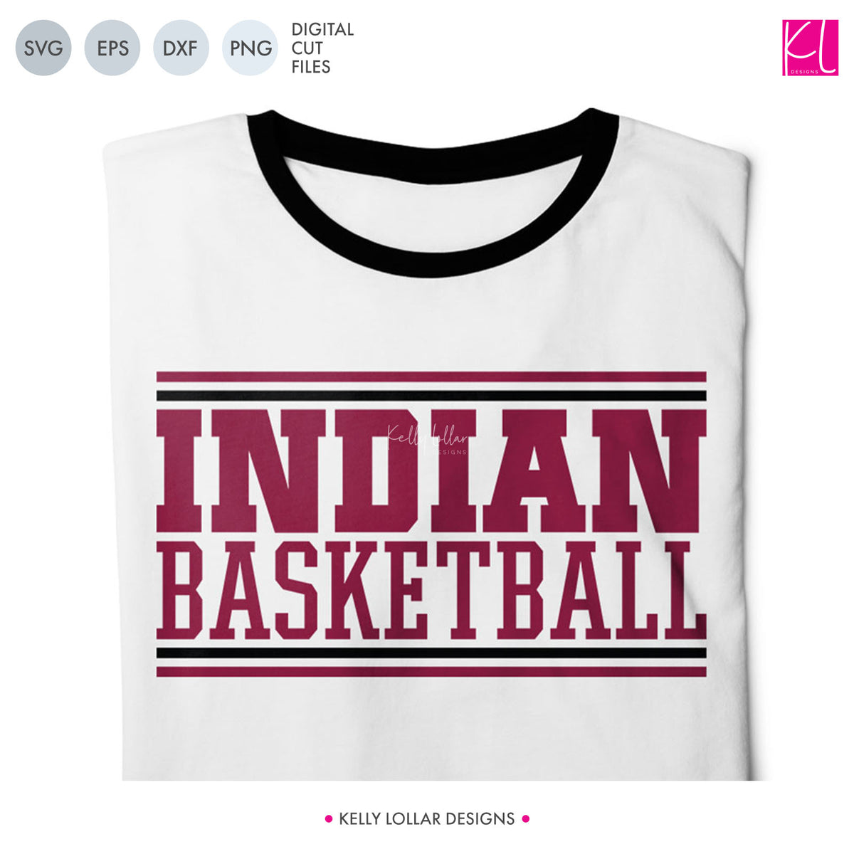 Indians Basketball Bundle | SVG DXF EPS PNG Cut Files