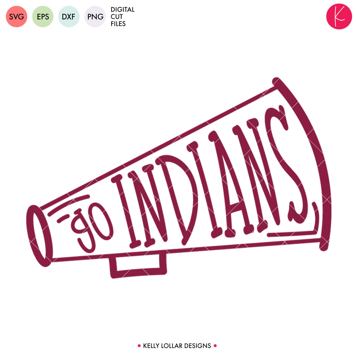 Indians Cheer Bundle | SVG DXF EPS PNG Cut Files
