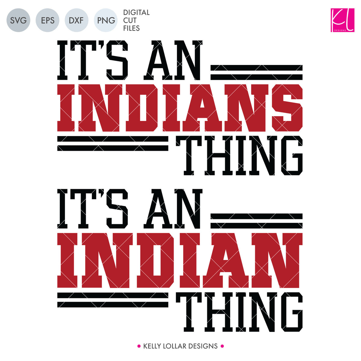 Indians Mascot Bundle | SVG DXF EPS PNG Cut Files