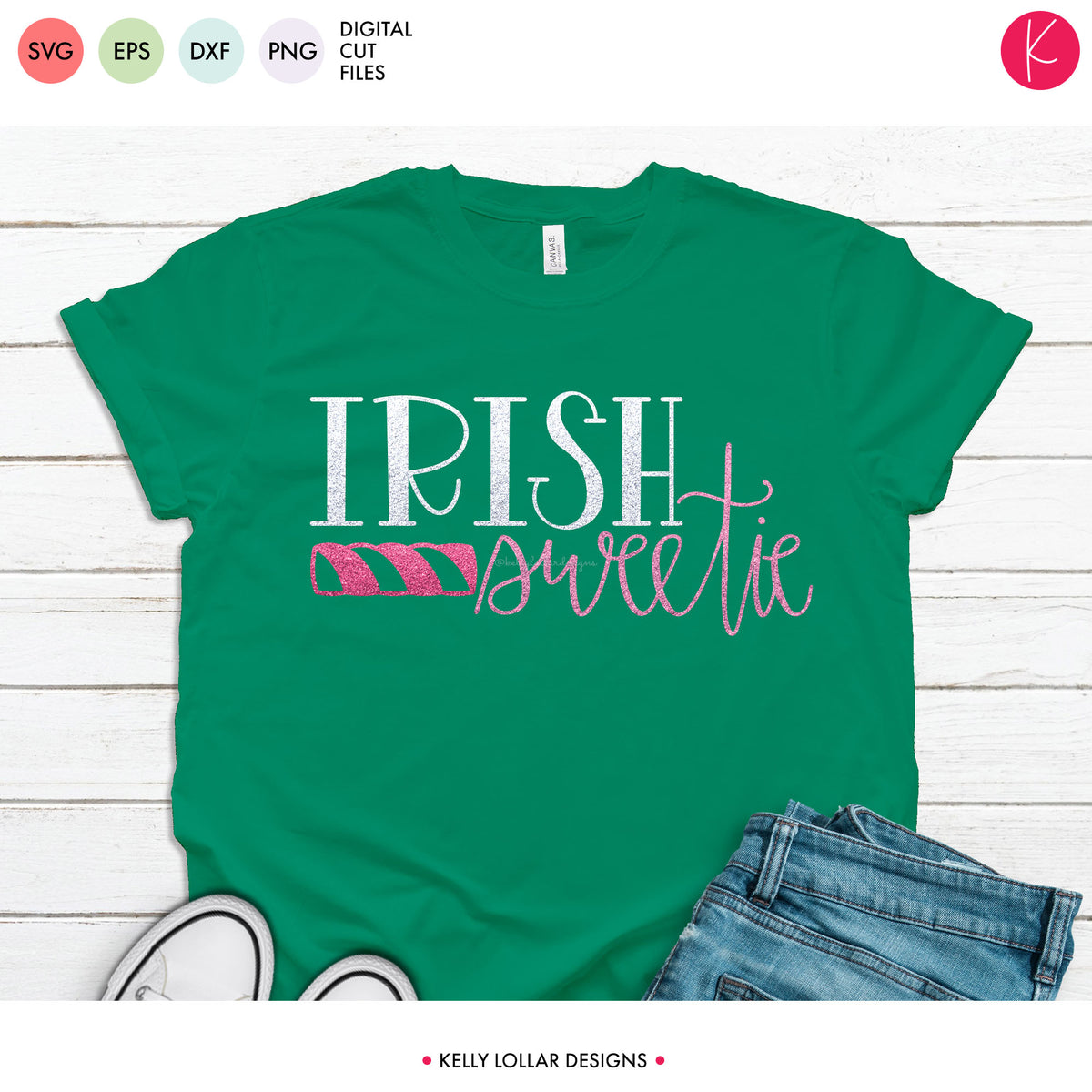 Irish Sweetie | SVG DXF EPS PNG Cut Files